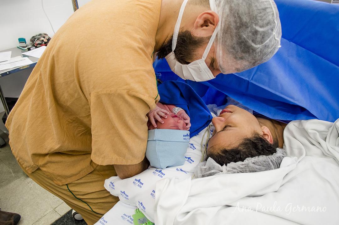 Fotografia de parto - Hospital e Maternidade São Luiz Itaim - Zona Sul de São Paulo 37