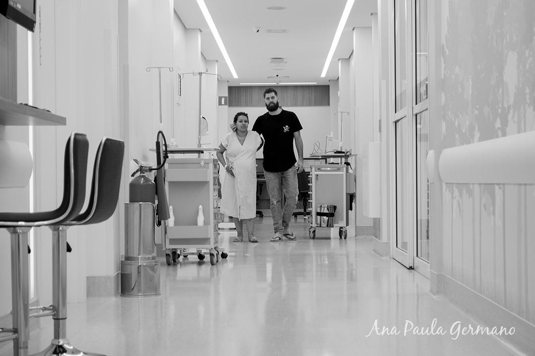 Fotografia de parto - Hospital e Maternidade São Luiz Itaim - Zona Sul de São Paulo 5