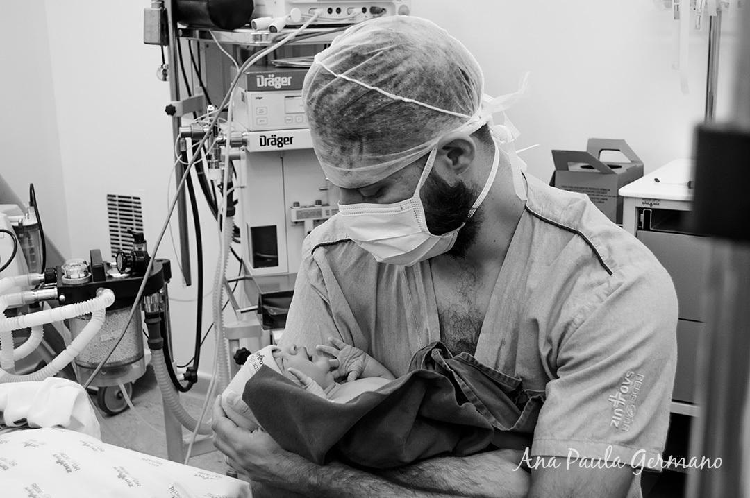 Fotografia de parto - Hospital e Maternidade São Luiz Itaim - Zona Sul de São Paulo 39