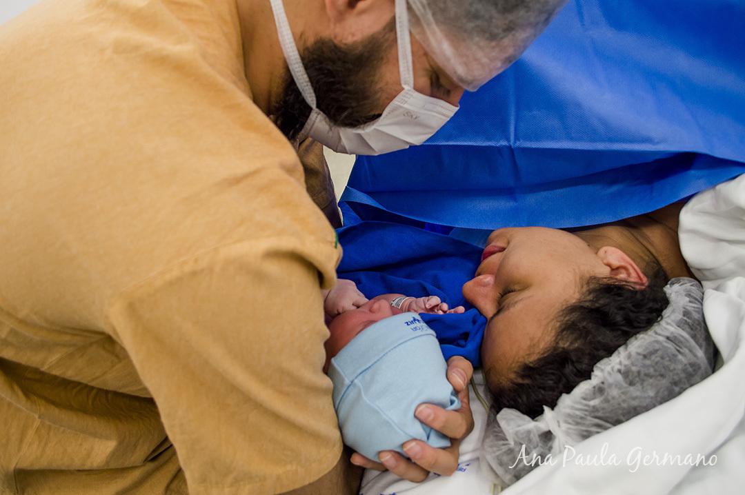 Fotografia de parto - Hospital e Maternidade São Luiz Itaim - Zona Sul de São Paulo 40