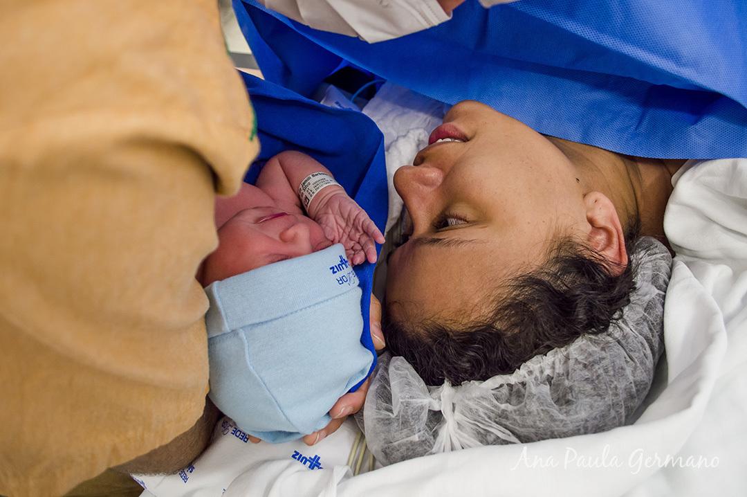Fotografia de parto - Hospital e Maternidade São Luiz Itaim - Zona Sul de São Paulo 41