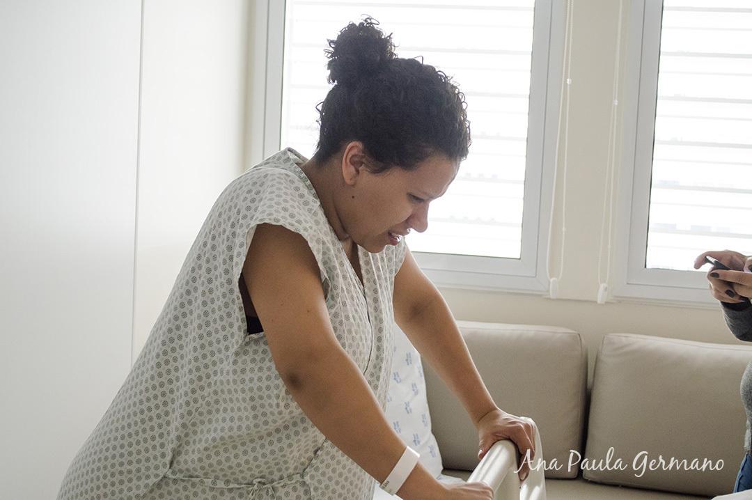 Fotografia de parto - Hospital e Maternidade São Luiz Itaim - Zona Sul de São Paulo 6
