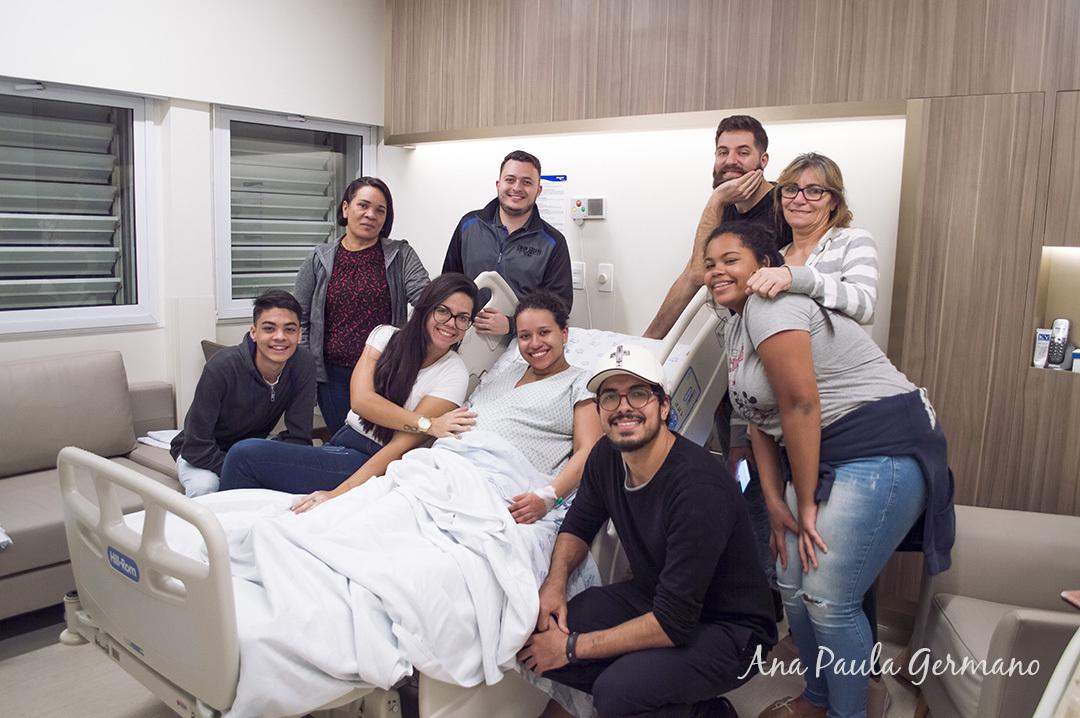 Fotografia de parto - Hospital e Maternidade São Luiz Itaim - Zona Sul de São Paulo 16