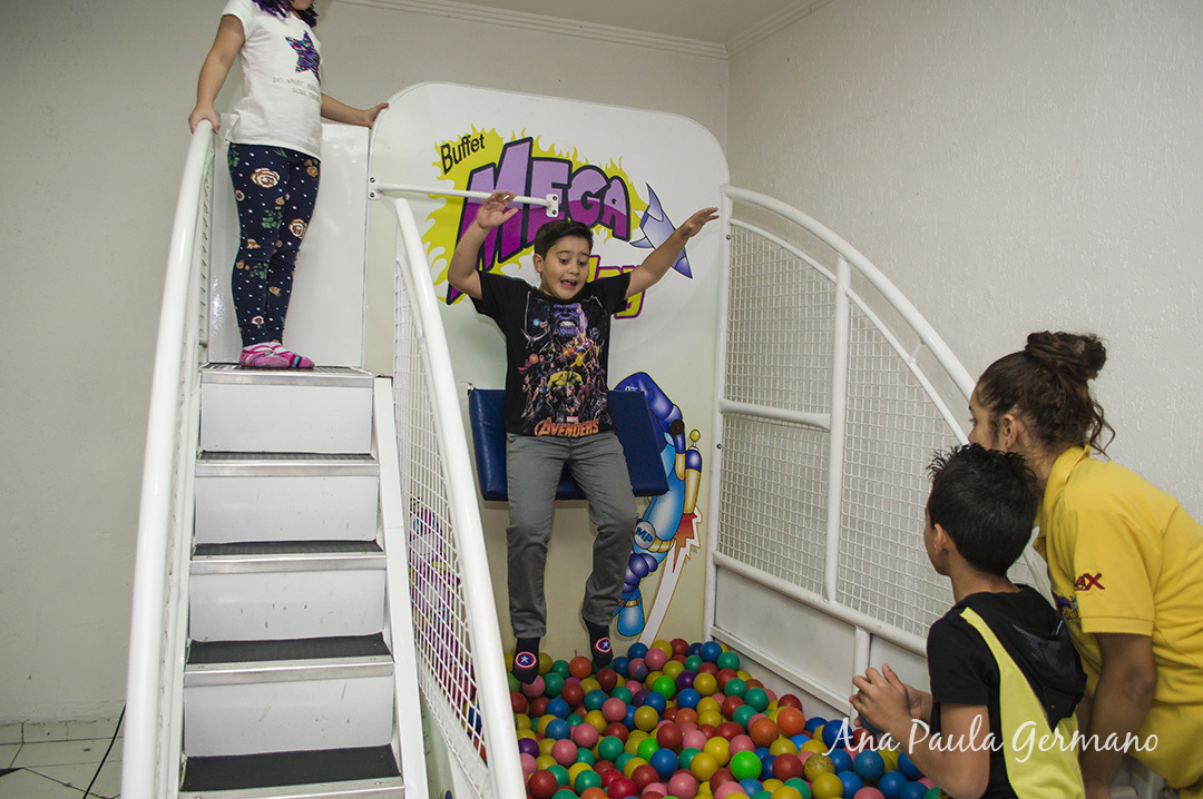 Aniversário Infantil - Buffet Mega Play