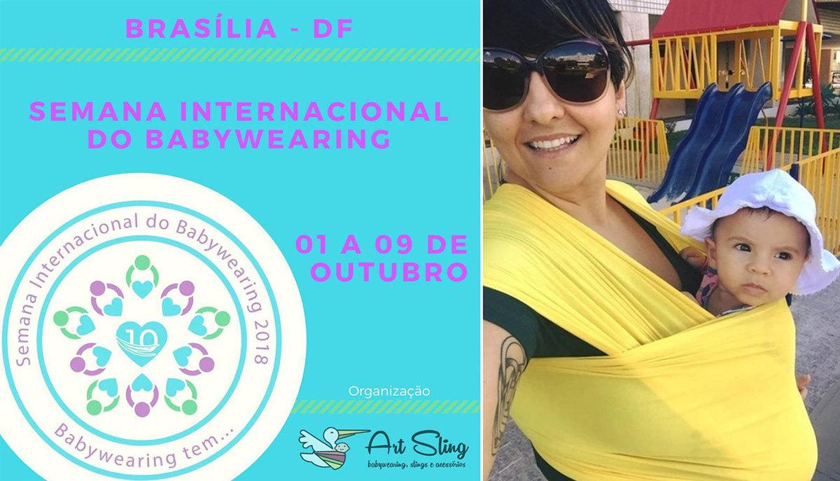 Imagem capa - Semana Internacional de Babywearing [ Brasília / DF ] por Amanda Franco