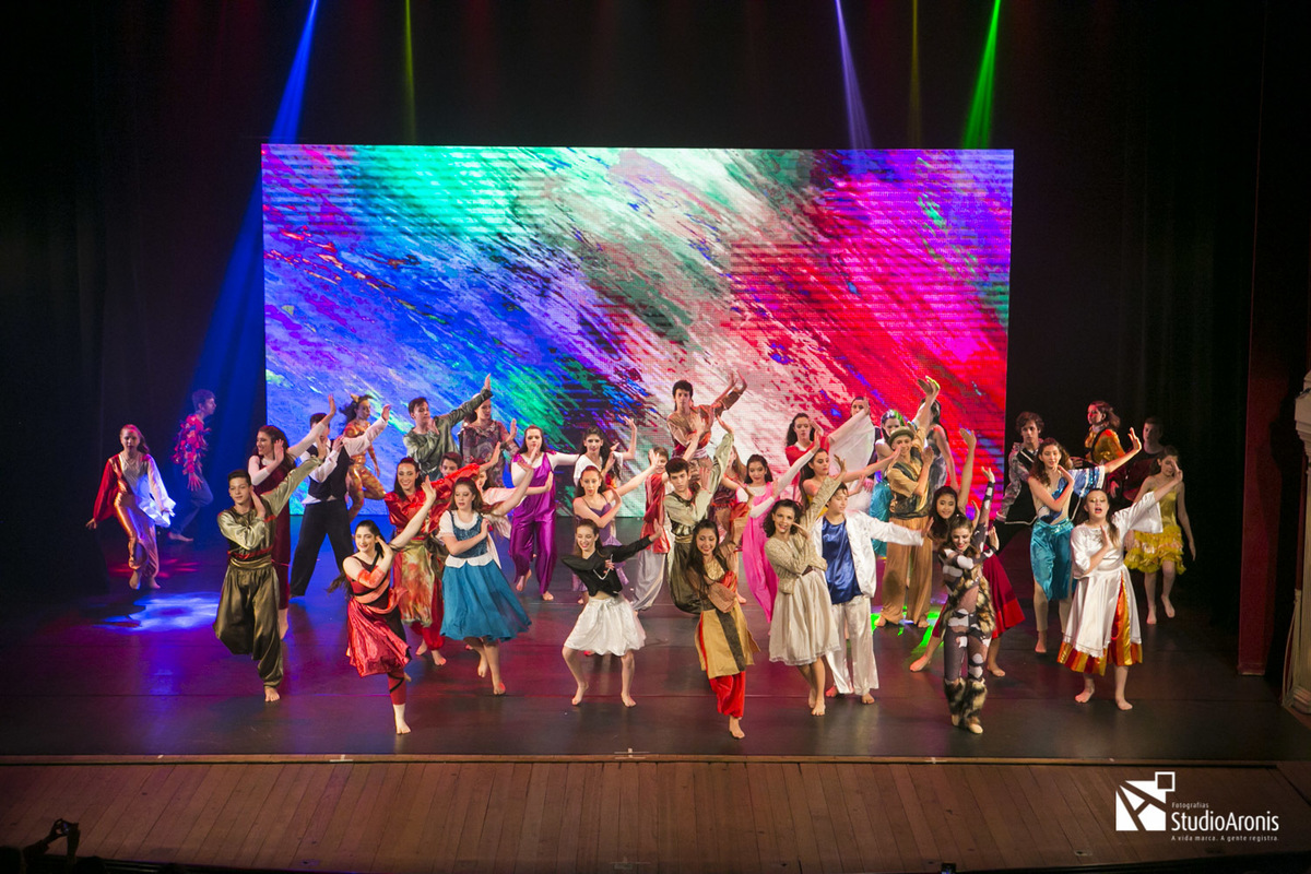 Ameinu - Porto Alegre - RS - Danças Judaicas - Fotografia Studio Aronis - Theatro São Pedro