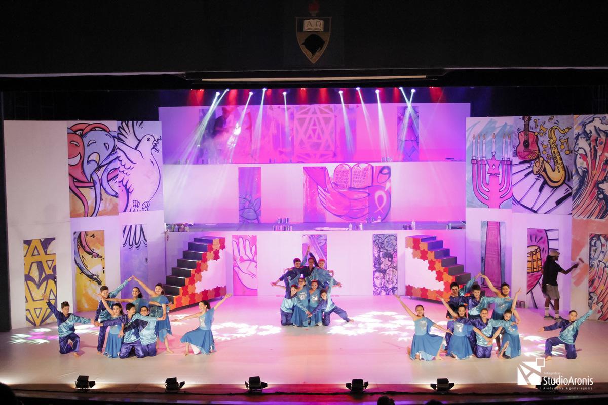Espetáculo MiAni - Colégio Israelita Brasileiro - Salão de Atos - Reitoria da UFRGS - Fotografia Robinson Aronis / Studio Aronis