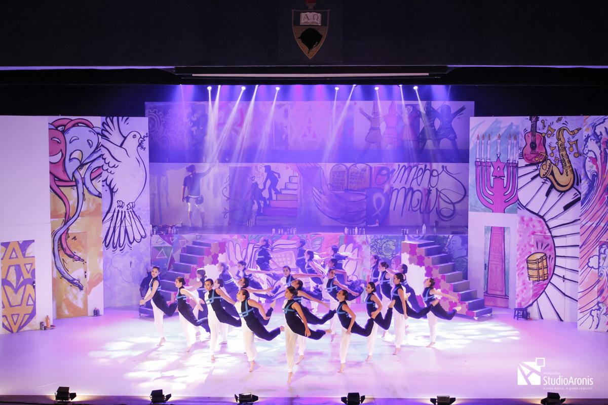 Espetáculo MiAni - Colégio Israelita Brasileiro - Salão de Atos - Reitoria da UFRGS - Judaísmo - Dança Judaica - Apresentação - Fotografia Robinson Aronis / Studio Aronis