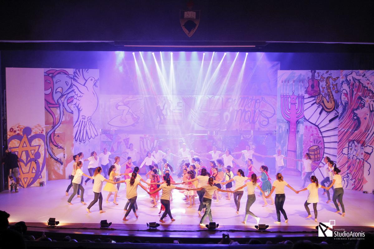Espetáculo MiAni - Colégio Israelita Brasileiro - Fotos Studio Aronis