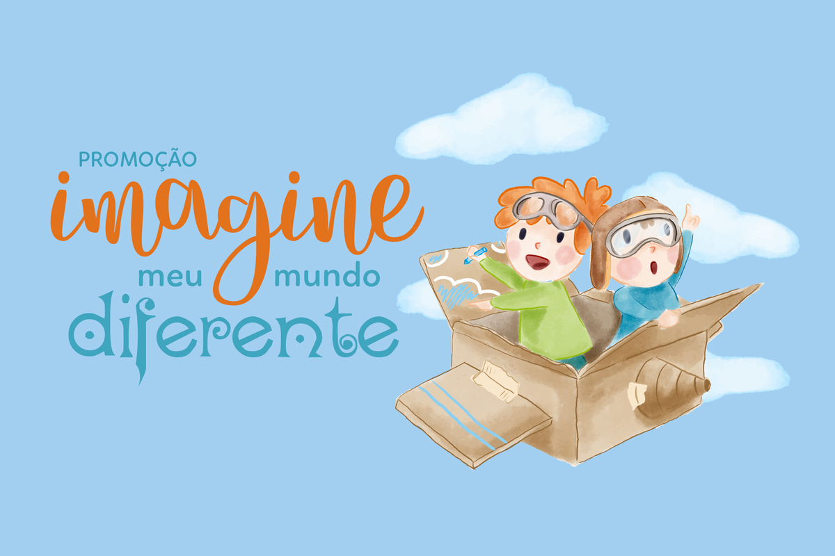 Imagem capa - PROMOÇÃO IMAGINE MEU MUNDO DIFERENTE por Imagine