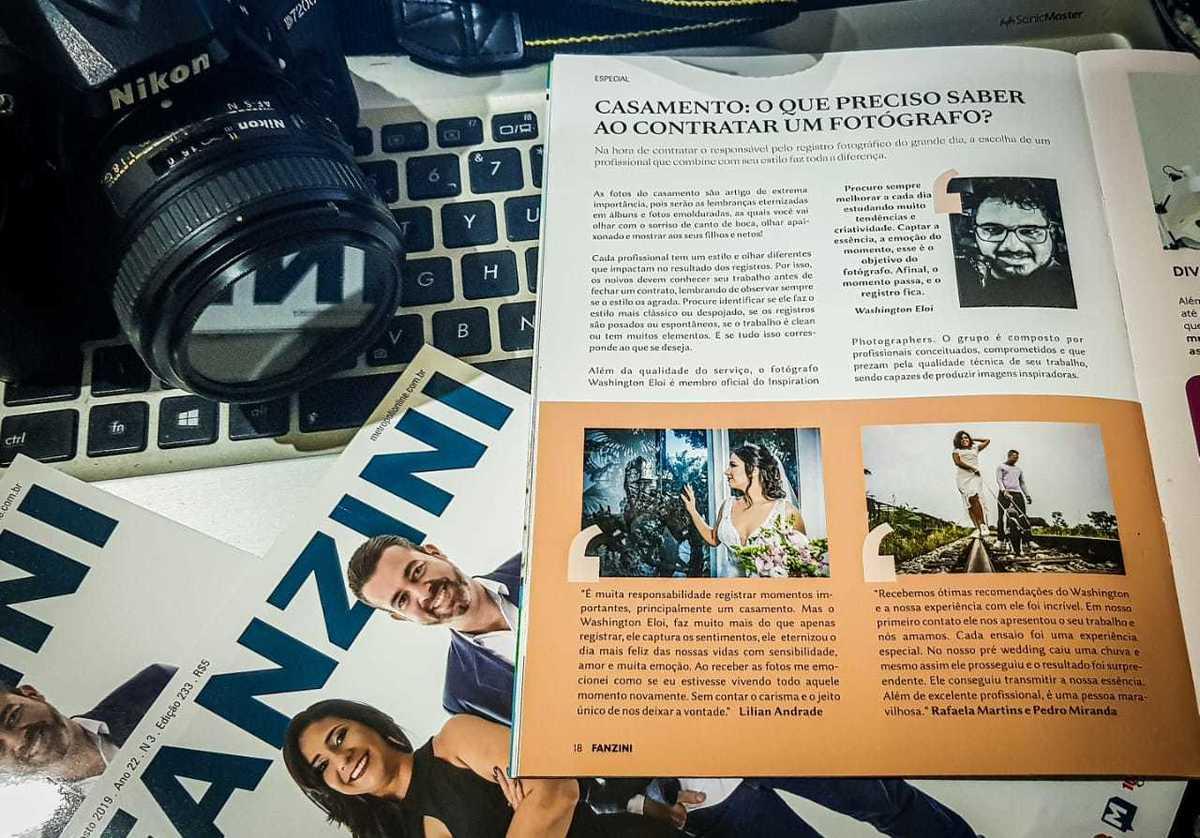 Imagem capa - Matéria Sobre Fotografia de Casamento com Washington Fotógrafo de Sete Lagoas por Washington Eloi Francisco