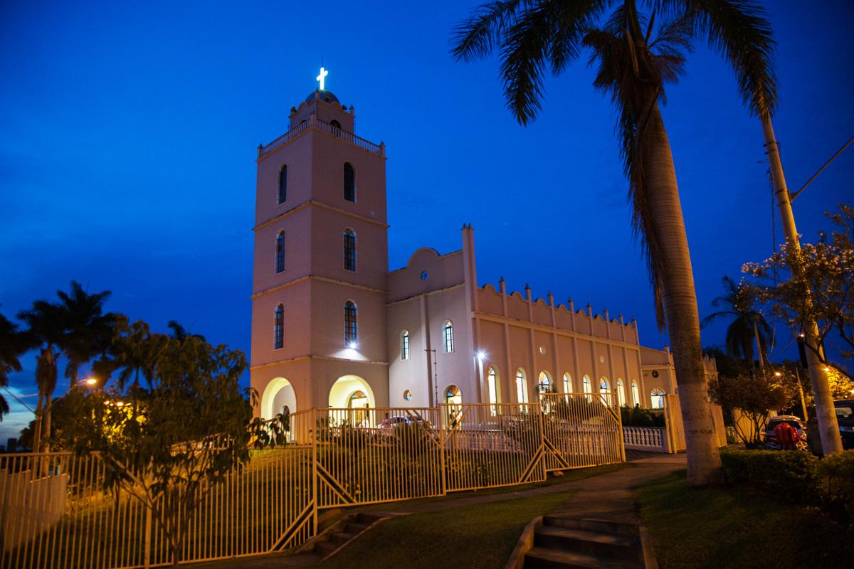 Fotografia da Igreja Nossa Senhora do Carmo - Paraopeba/MG