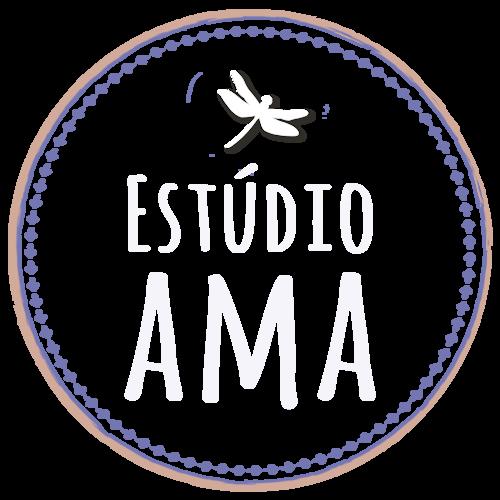 Logotipo de Estúdio Ama fotografia