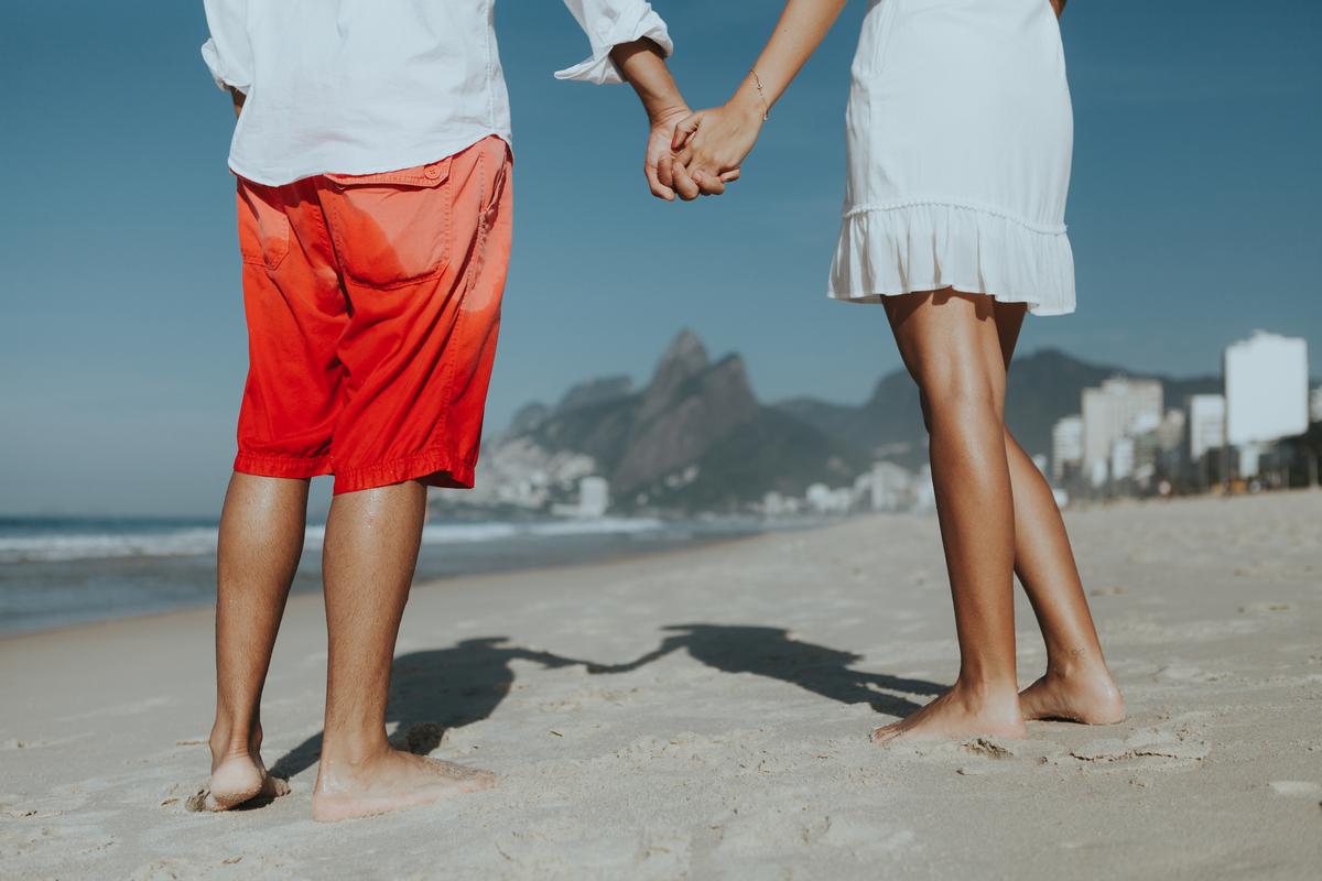 Imagem capa - Ensaio Pré-casamento Ingrid e Ryan - Rio de Janeiro por Flávia Balbino Fotografia