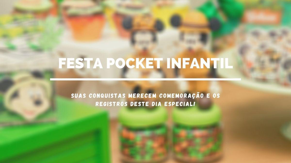 Imagem capa - Festa pequena em casa - Pocket Infantil por Priscila Rejane Fotografias
