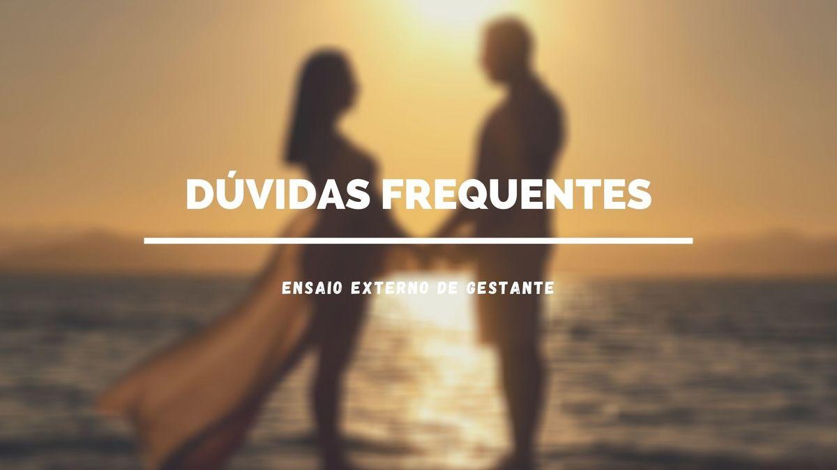 Imagem capa - Dúvidas Frequentes - Ensaio de Gestante por Priscila Rejane Fotografias