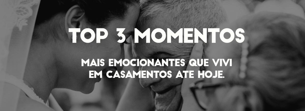 Imagem capa - 3 MOMENTOS QUE VIVI EM CASAMENTOS QUE VÃO TE EMOCIONAR! por Lucas Moreira de Melo