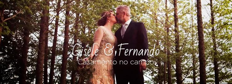 Imagem capa - Casamento no campo // Gisele & Fernando  por Cinefire Wedding Films