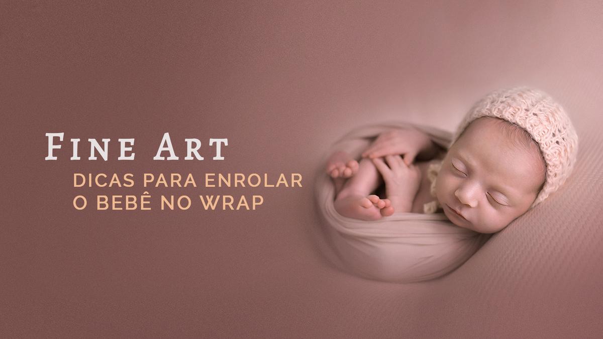 Imagem capa - O bebê não dorme no ensaio new born? Dicas para enrolar o bebê no wrap por Creative Inspiration Photography