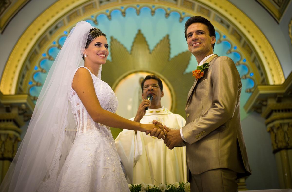 Igreja Nossa Senhora de Fátima Casamento Lorrayne  e Flávio Araguari