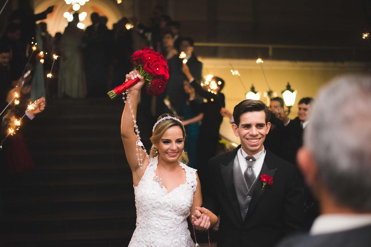 Casamento Keli   Allan Capela Marista Buquê de Noiva