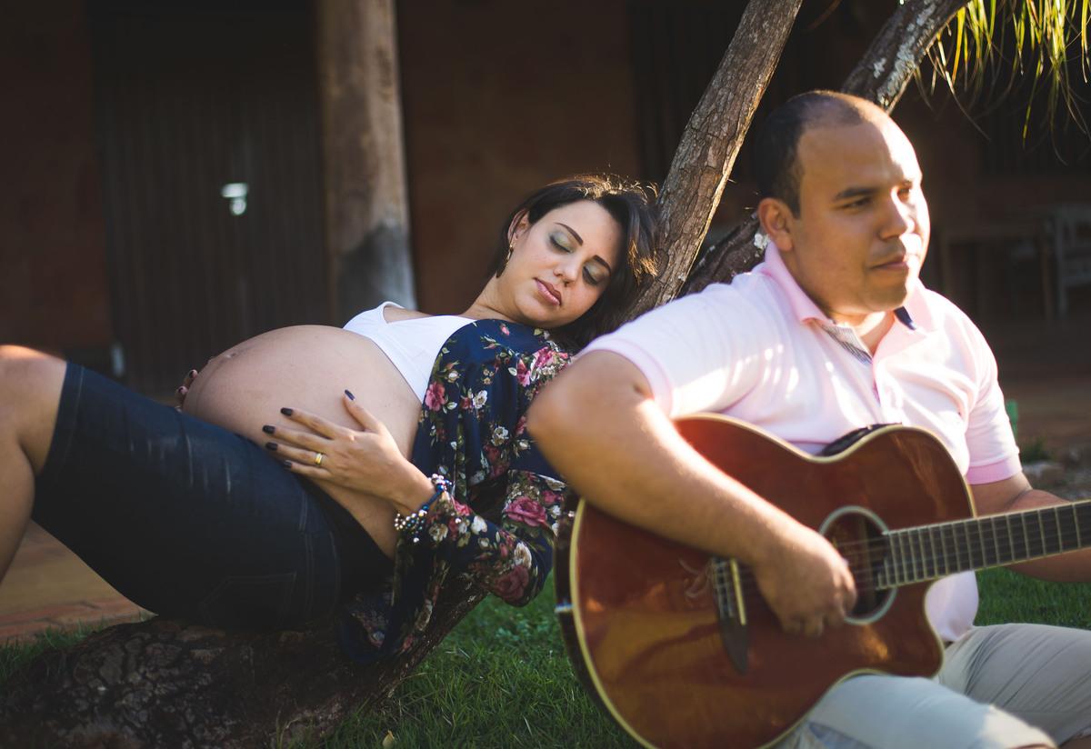 Ensaio gestante Susane e Paulo Roberto Pousada São Francisco Uberaba-mg