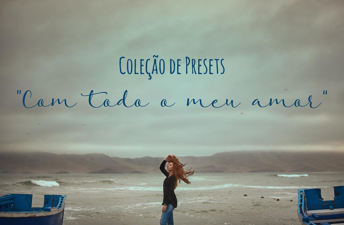 Imagem capa - Coleção de PRESETS -