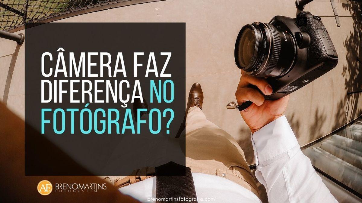 Imagem capa - Câmera faz diferença no fotógrafo? | Breno Martins por Breno Martins