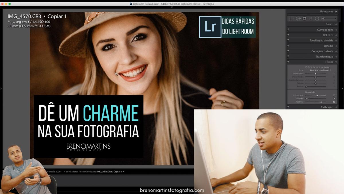 Imagem capa - Dê um charme nas suas fotos com essa ferramenta no Lightroom | Breno Martins por Breno Martins
