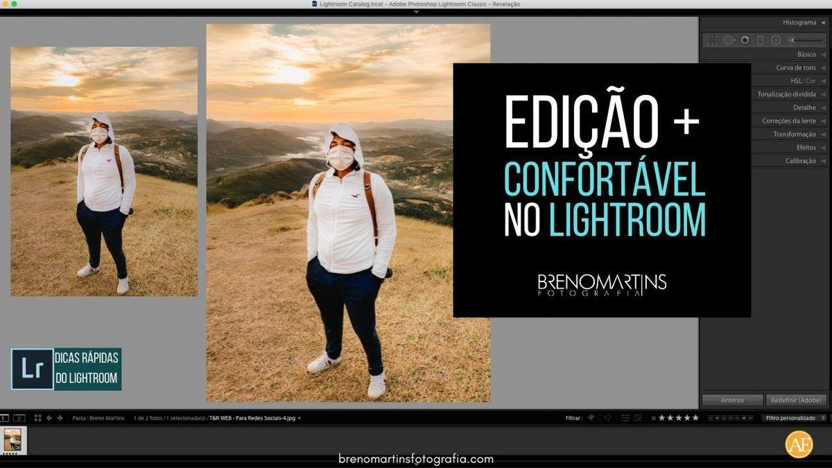 Imagem capa - Edição mais confortável no Lightroom | Breno Martins Fotografia por Breno Martins