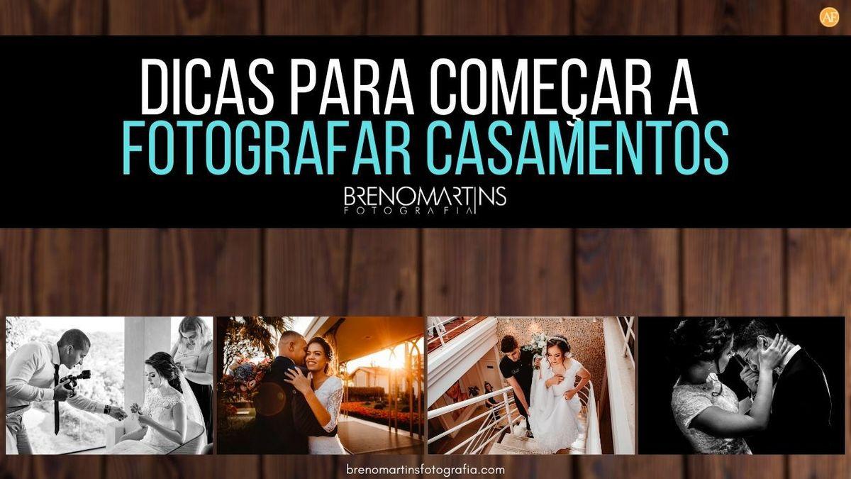 Imagem capa - Dicas para começar a fotografar casamento | Breno Martins Fotografia por Breno Martins