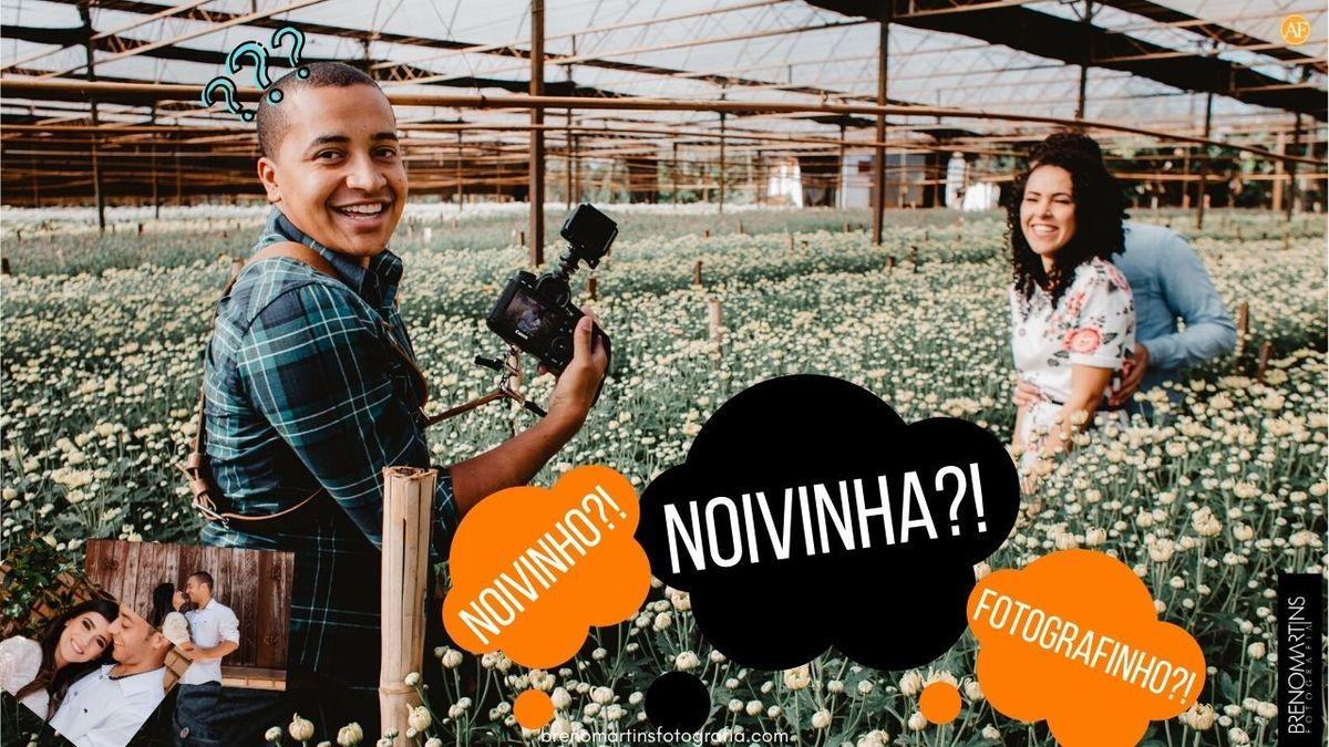 Imagem capa - Noivinha? fotografinho? | Breno Martins Fotografia #AlémDaFotografia por Breno Martins