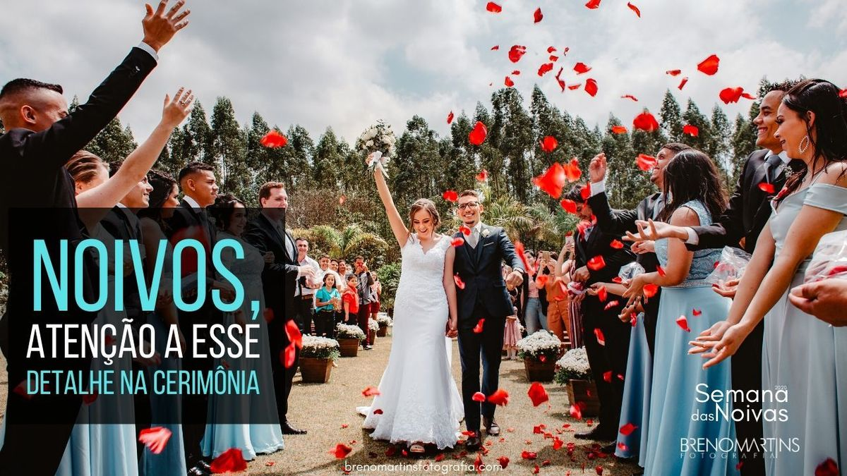 Imagem capa - Noivos, atenção a esse detalhe na cerimônia | #SemanaDasNoivas por Breno Martins