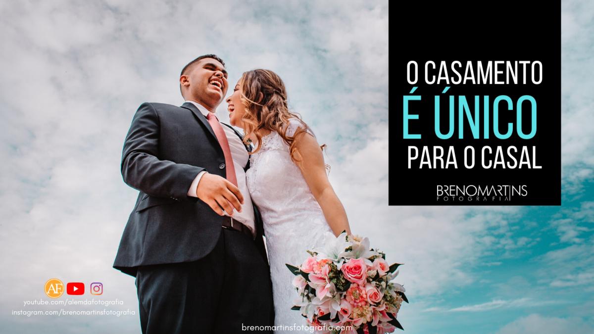 Imagem capa - O casamento é único para o casal | Breno Martins por Breno Martins