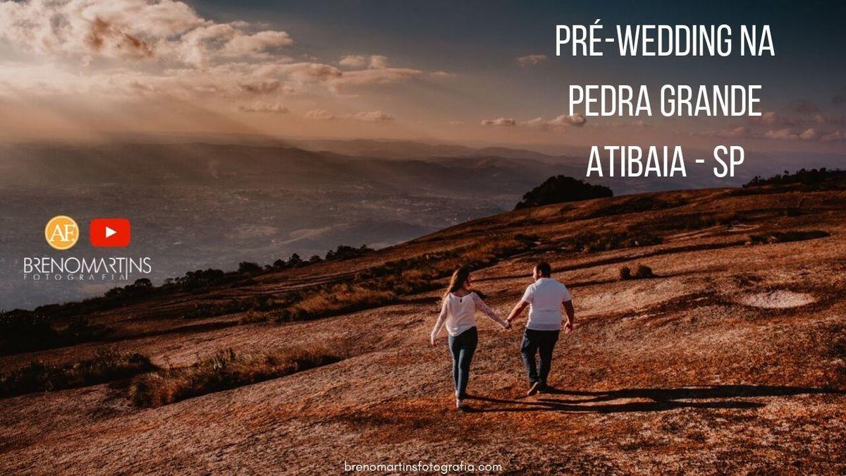 Imagem capa - Pré-Wedding na Pedra Grande Atibaia   Além da Fotografia por Breno Martins