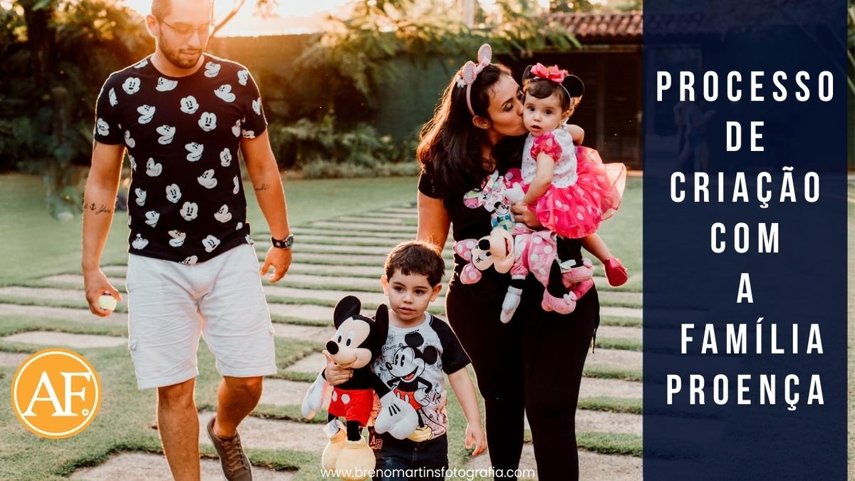 Imagem capa - Família Proença [Processo de criação] -  Além da Fotografia por Breno Martins