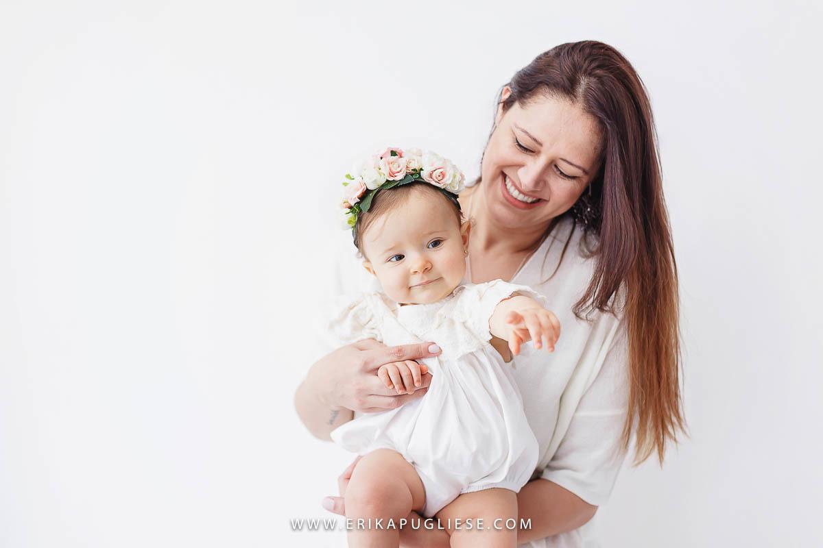 Malu e sua mamãe se divertem em ensaio fotográfico