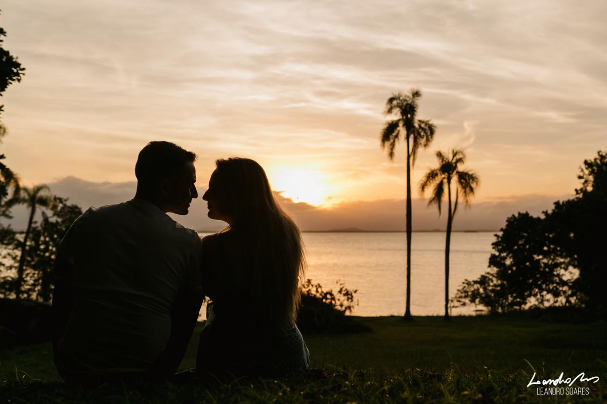 ensaio casal joinville por do sol