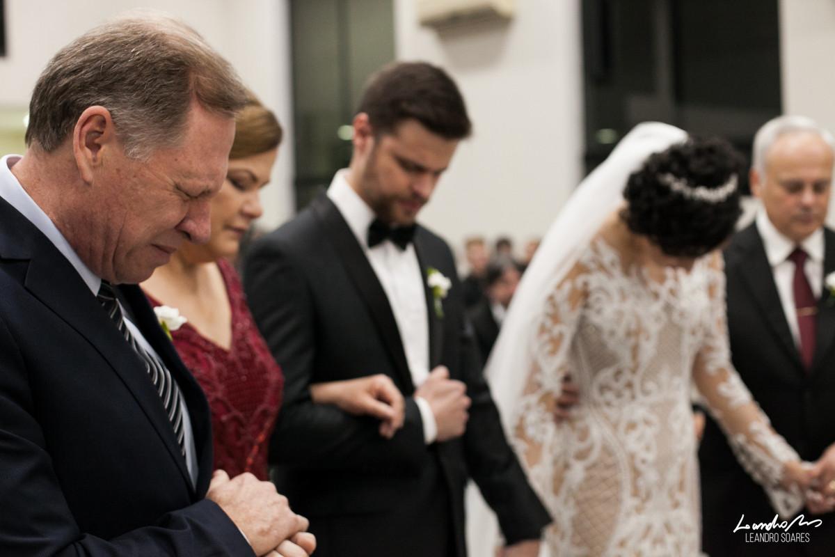 pais dos noivos oram casamento