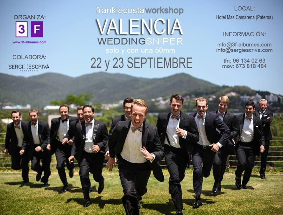 Imagem capa - WORKSHOP VALÊNCIA - ESPANHA - WEDDING SNIPER por Frankie Costa