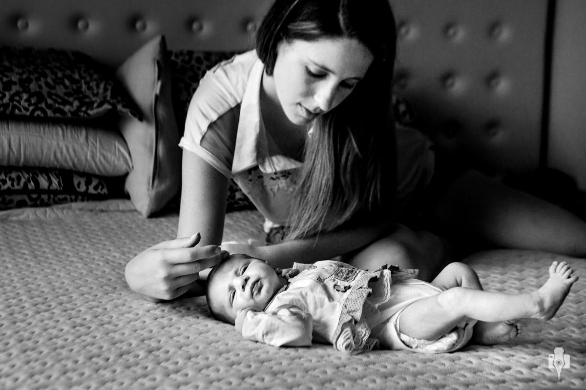 sessao de fotos intima com bebe recem nascido