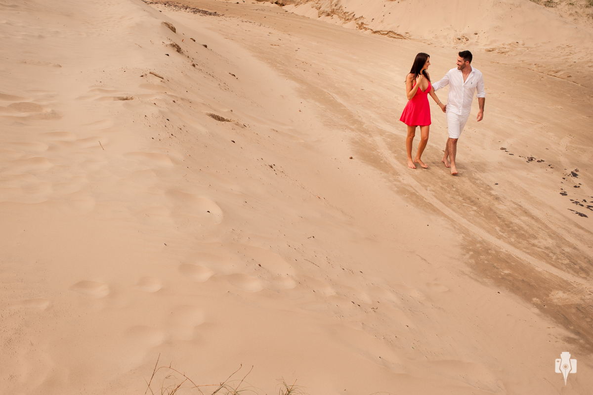 ensaio fotografico de casal na praia