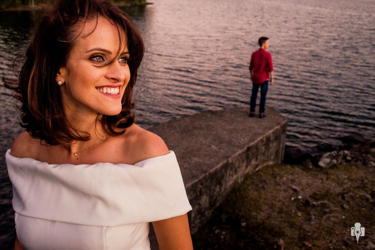 ensaio pré casamento na barragem
