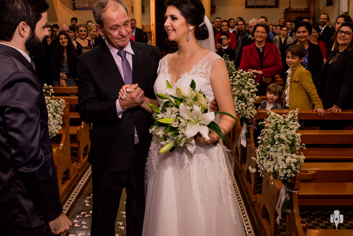 uma noiva super querida para a família da beth