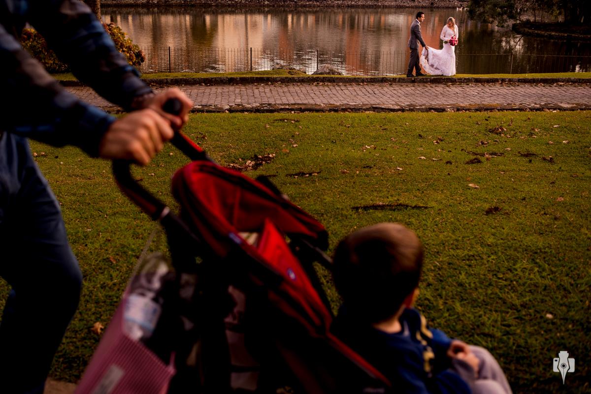 casamento de dia no lago
