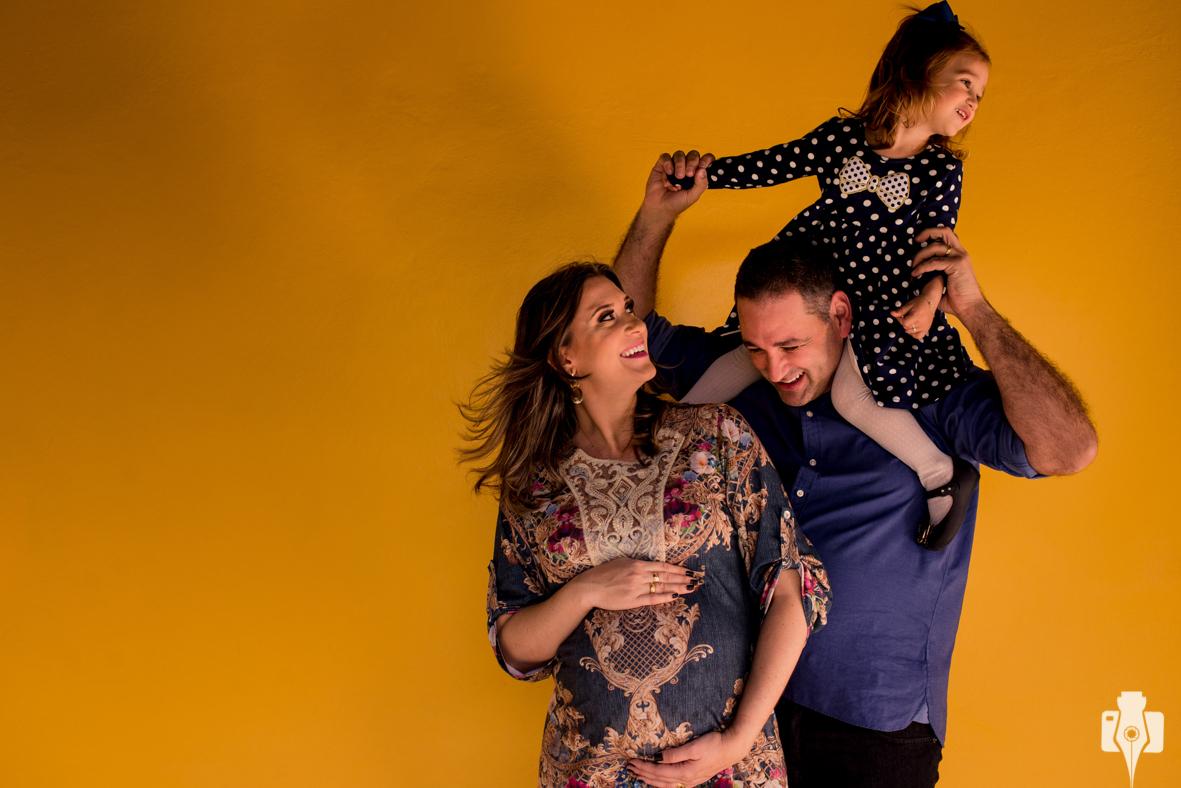 fotografia externa de família