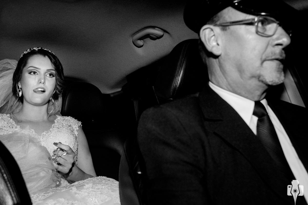 a noiva mais emocionada