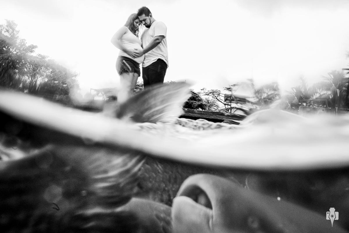 ensaio de gestante e ensaio de fotografos tatiana e pedro em bonito ms