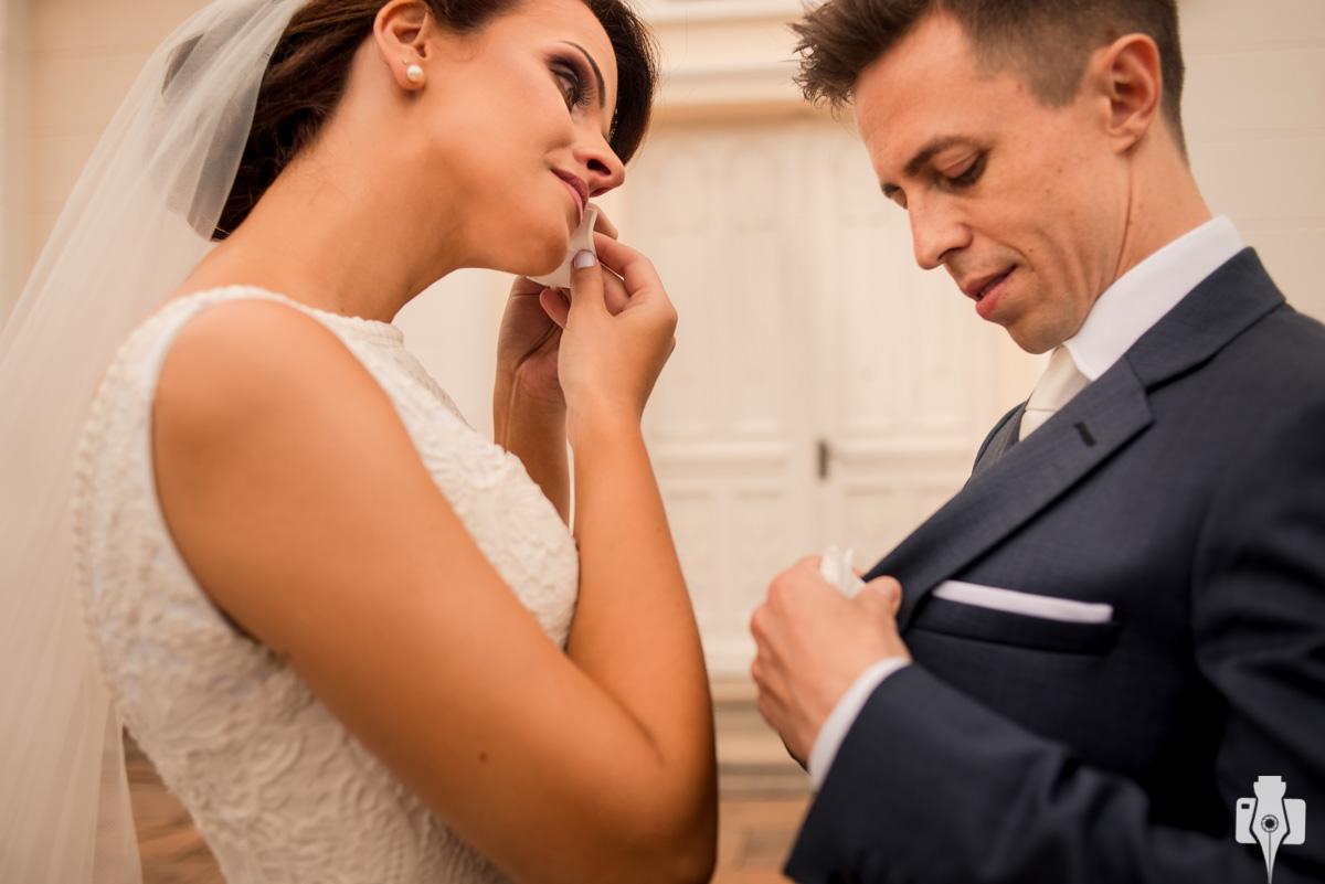 casamento emocionante