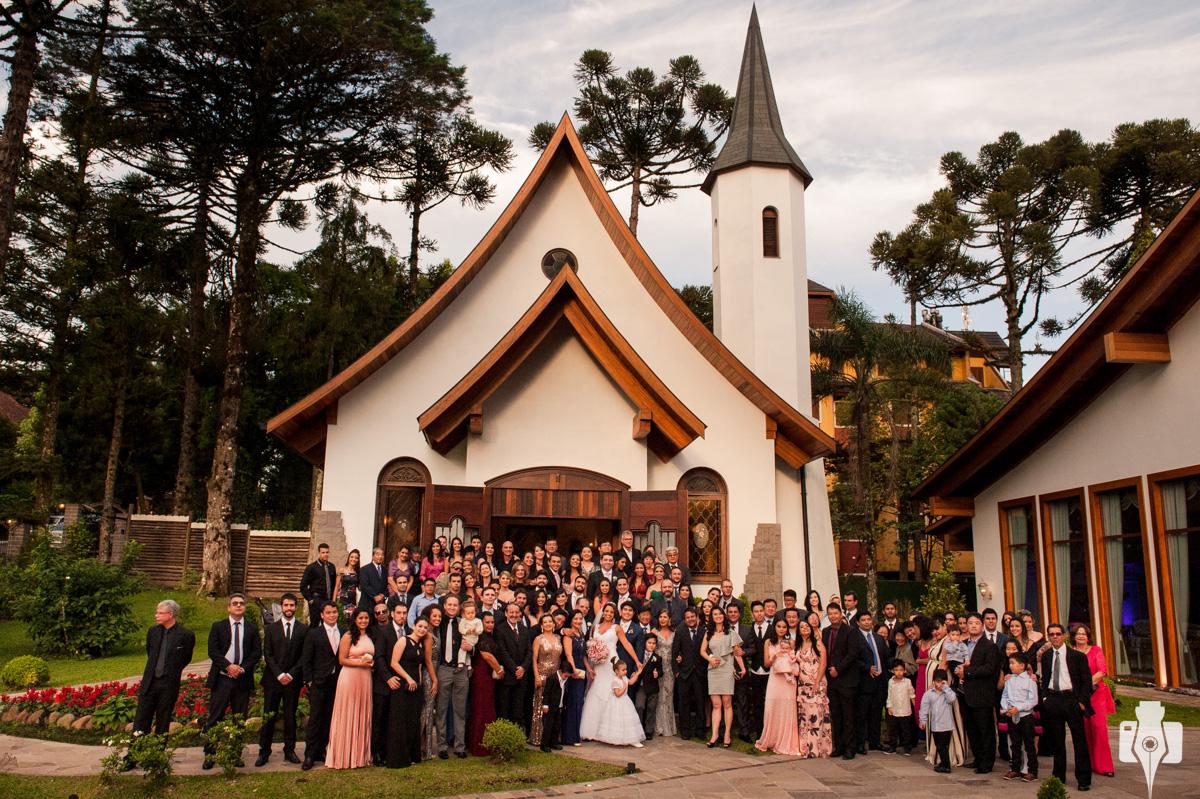 casamento de dia na capela em gramado